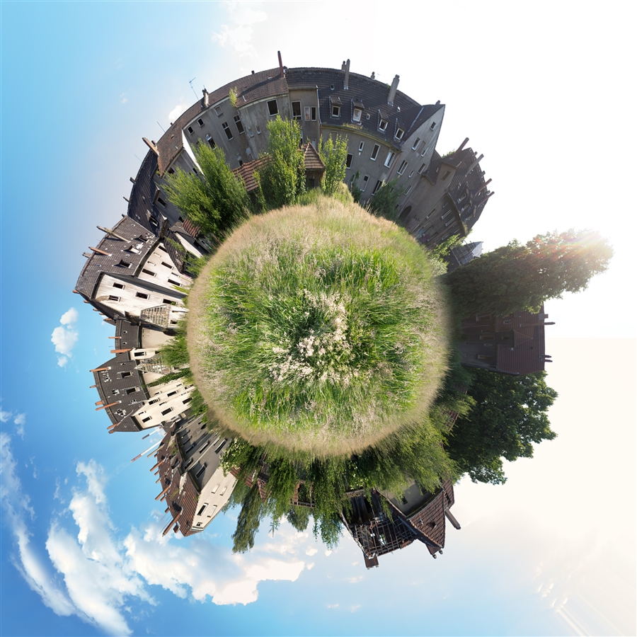 Photosop-Spielerei: Planet